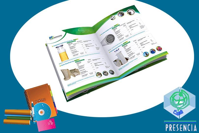 Impresión Offset y Digital: Catálogos
