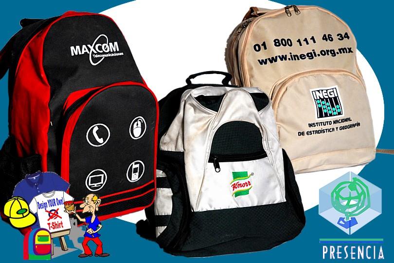 Textiles: Backpack y Mochilas